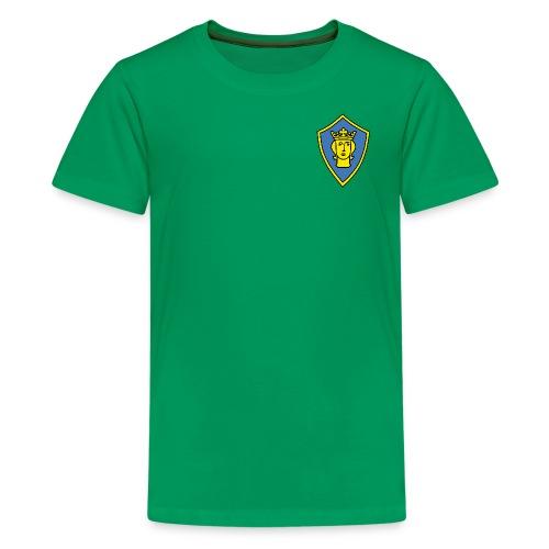 Klassisk T-shirt tonåring - Premium-T-shirt tonåring