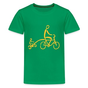 Tandemstange Shirt - Teenager Premium T-Shirt