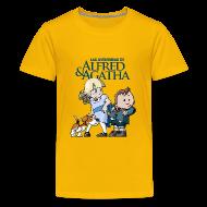 Camisetas ~ Camiseta premium adolescente ~ Alfred & Agatha 1