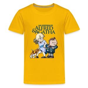 Alfred & Agatha 1 - Camiseta premium adolescente