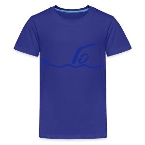 Schwimmen Shirt - Teenager Premium T-Shirt