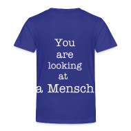 Tee shirts ~ T-shirt Premium Enfant ~ You are looking at a mensch