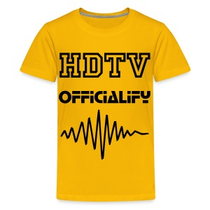 HDTV classic t-shirt - Teenage Premium T-Shirt