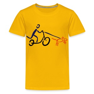 Hundezugsport Shirt - Teenager Premium T-Shirt