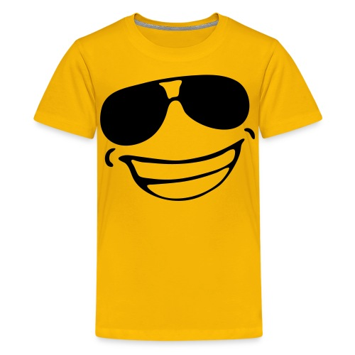 BOYS SMILE TEE - Teenage Premium T-Shirt