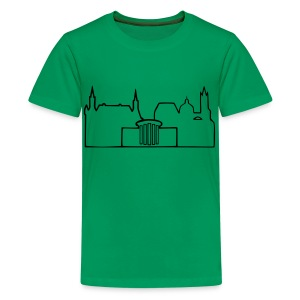 Skyline Aachen Shirt - Teenager Premium T-Shirt