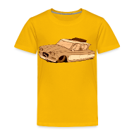 Tee shirts ~ T-shirt Premium Enfant ~ Leadsled Sepia