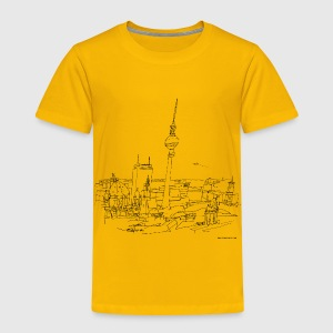 Berlin Panorama - Kinder Premium T-Shirt