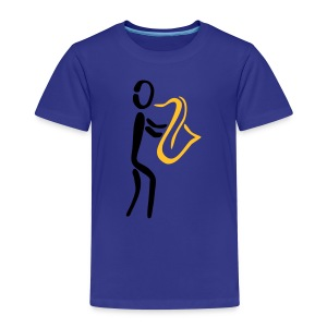 Saxophonist Shirt - Kinder Premium T-Shirt