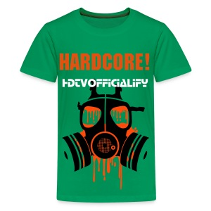 Hardcore HDTVofficialify Teens T-shirt - Teenage Premium T-Shirt