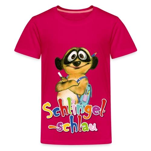 Schlingel-Schlau - Teenager Premium T-Shirt