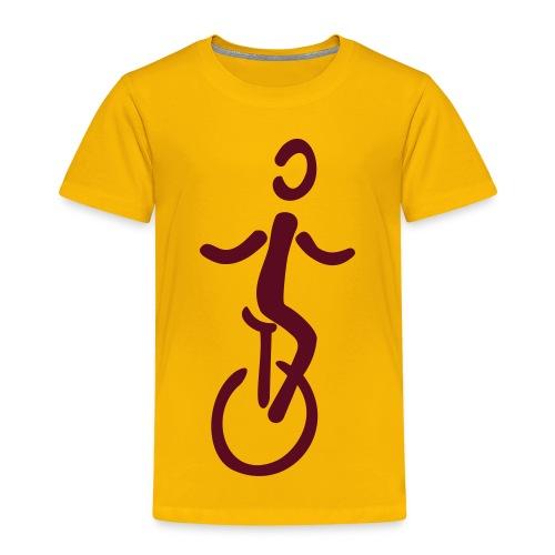 Einrad Shirt - Kinder Premium T-Shirt