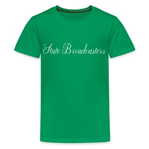 State Broadcasters - Teenage Premium T-Shirt