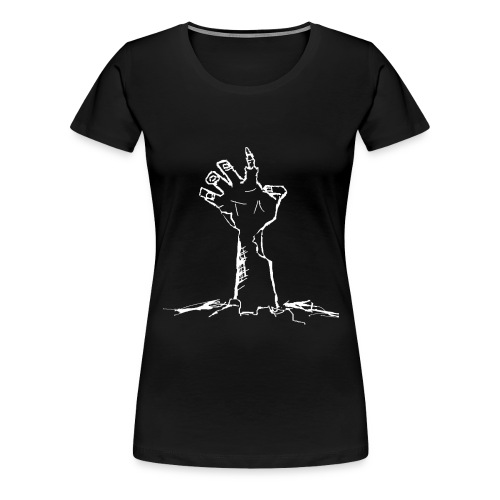 Zombie Rising white - Women's Premium T-Shirt