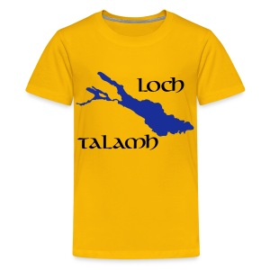 Loch Talamh Kinder T-Shirt - Teenager Premium T-Shirt