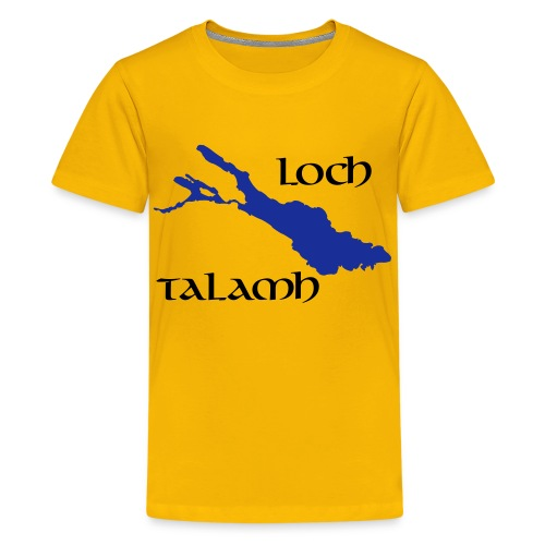 Loch Talamh Kinder T-Shirt - Teenager Premium T-Shirt