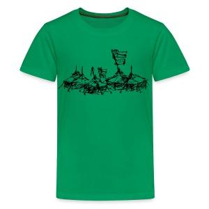 ... mein Dorf - Teenager Premium T-Shirt