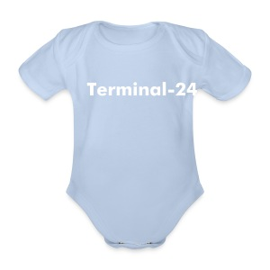 Terminal-24 Baby One-Piece - Organic Short-sleeved Baby Bodysuit
