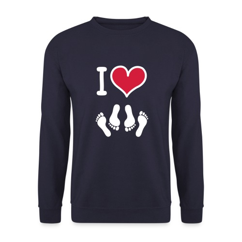 pull homme i love .... - Sweat-shirt Homme