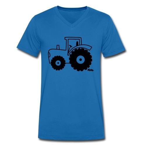 funny - T-shirt ecologica da uomo con scollo a V di Stanley & Stella