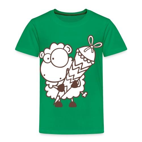 Schulanfangs T-Shirt Schaf - Kinder Premium T-Shirt