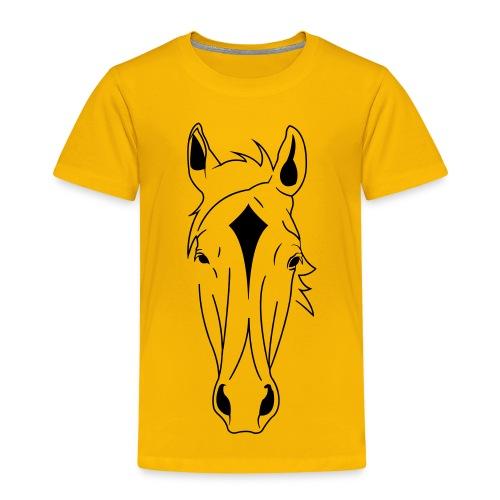 Horse Face - Kids' Premium T-Shirt