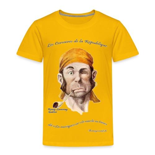 T-SHIRT premium enfant rémy lamiray - T-shirt Premium Enfant