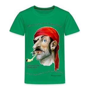 T-SHIRT premium enfant grégoire fauve - T-shirt Premium Enfant