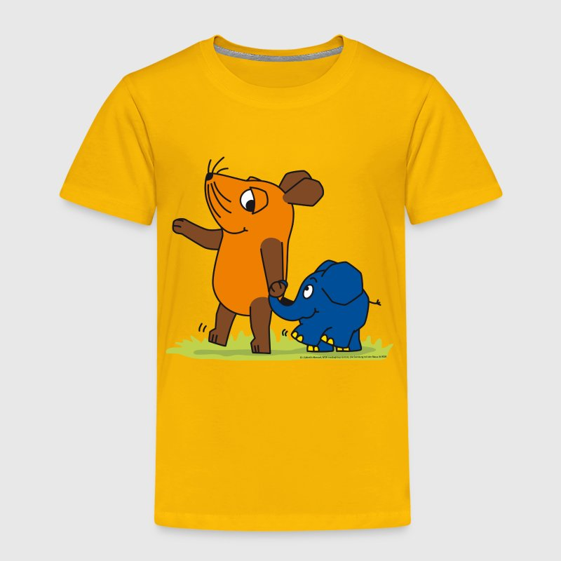 Kinder-T-Shirt 'Maus & Elefant'- Freundschaft - Kinder Premium T-Shirt