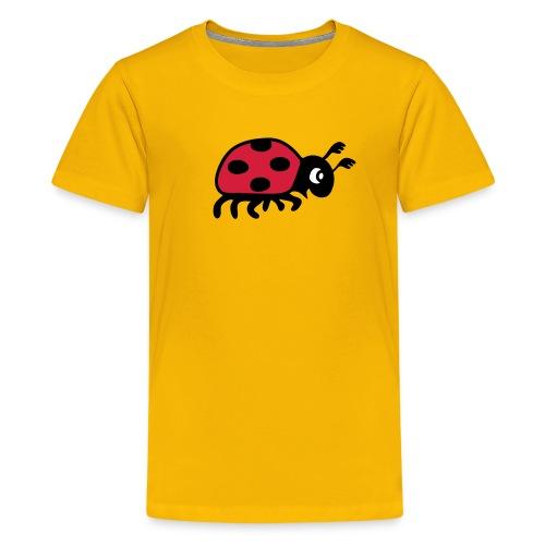 tier t-shirt marienkäfer glückskäfer marini  insekt glück liebe - Teenager Premium T-Shirt