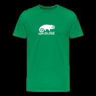 T-Shirts ~ Men's Premium T-Shirt ~ Men's Tee White Logo