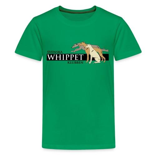 T-shirt, tonår, tryck fram. - Premium-T-shirt tonåring