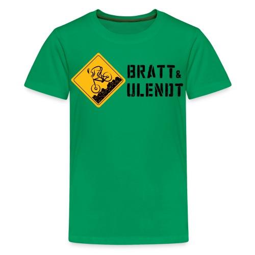 Klassisk tenårings-T-skjorte - Premium T-skjorte for tenåringer
