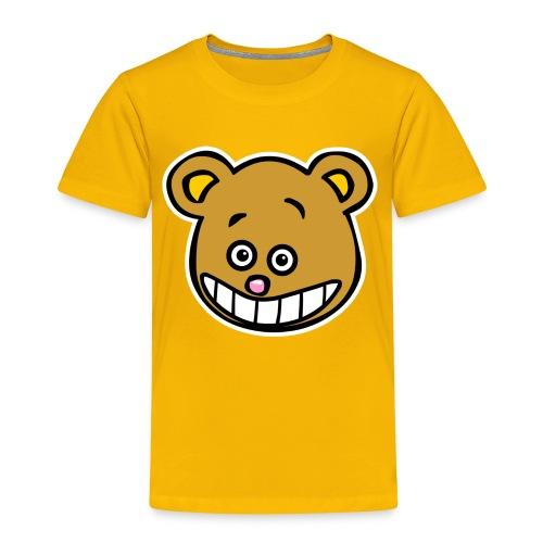 Smiley-Teddy Shirt - Kinder Premium T-Shirt