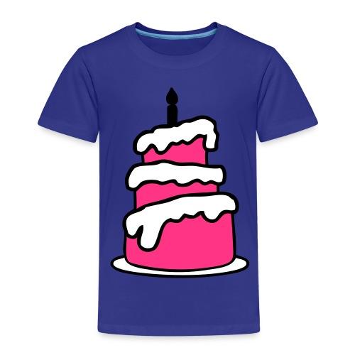 Geburtstagstorte, Torte, Geburtstag - Kinder Premium T-Shirt