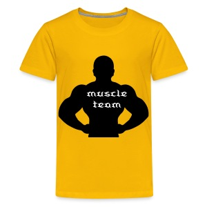 muscle team 2 - Teenager Premium T-shirt