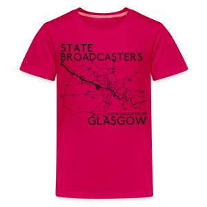 Pop Group From Glasgow - Teenage Premium T-Shirt