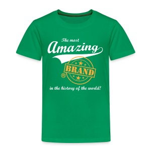 The most amazing brand (kids) - Kinderen Premium T-shirt