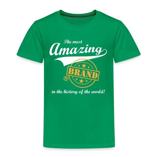 The most amazing brand (kids) - Kinderen Premium T-shirt