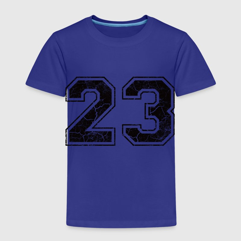 Number 23 in the used look Shirts - Kids' Premium T-Shirt