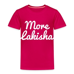 More Lakisha t-shirt white/pink KIDS - Kids' Premium T-Shirt