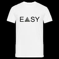 T-Shirts ~ Männer T-Shirt ~ EASY Blck'n'White