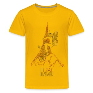 Mothman - Teenage Premium T-Shirt