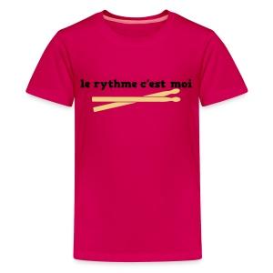 Teens I Am The Rhythm T'shirt - Teenage Premium T-Shirt