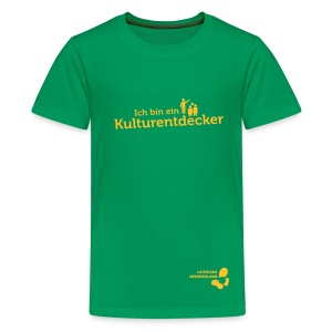 Teenager Premium T-Shirt Kulturentdecker - Teenager Premium T-Shirt