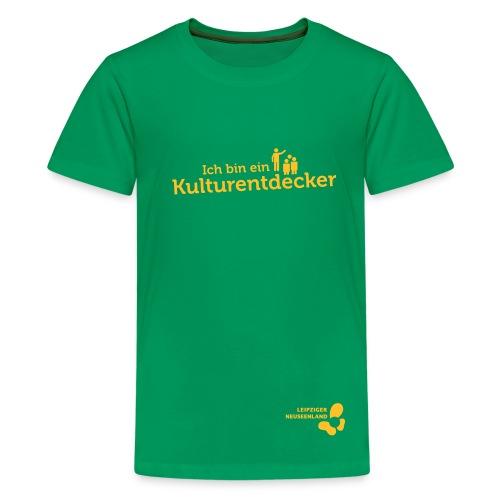 Teenager Premium T-Shirt Kulturentdecker - Teenager Premium T-Shirt