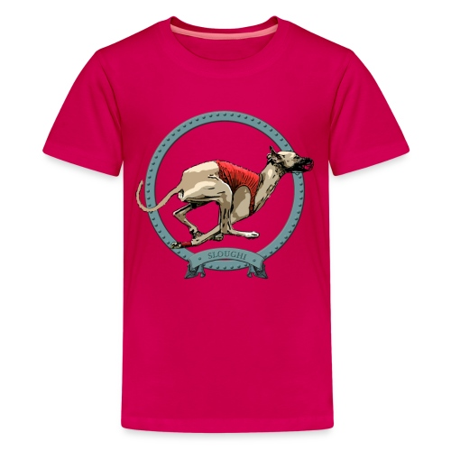 Sloughi. Classic course - T-shirt Premium Ado