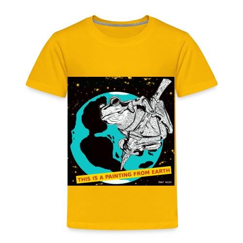 kinder t-shirt kikker - Kinderen Premium T-shirt