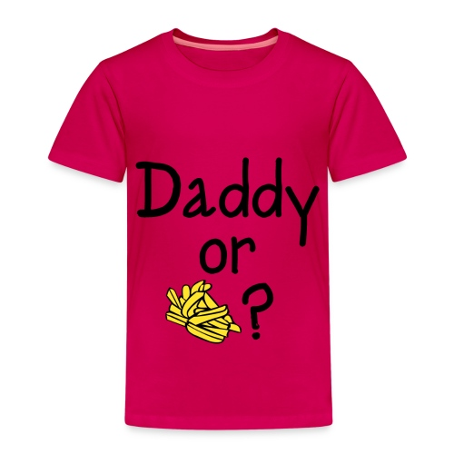 Daddy Or Chips Kids T - Kids' Premium T-Shirt