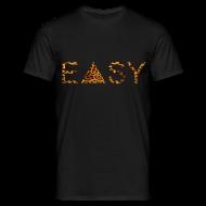 T-Shirts ~ Männer T-Shirt ~ EASY Leopard